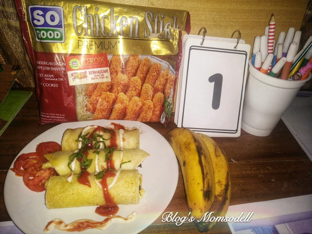 Chicken Roll Nugget Stick SO GOOD, Camilan Sehat Menu Piring Gizi Seimbang