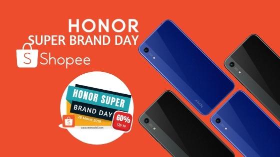 Honor 8A Shopee Super Brand Day