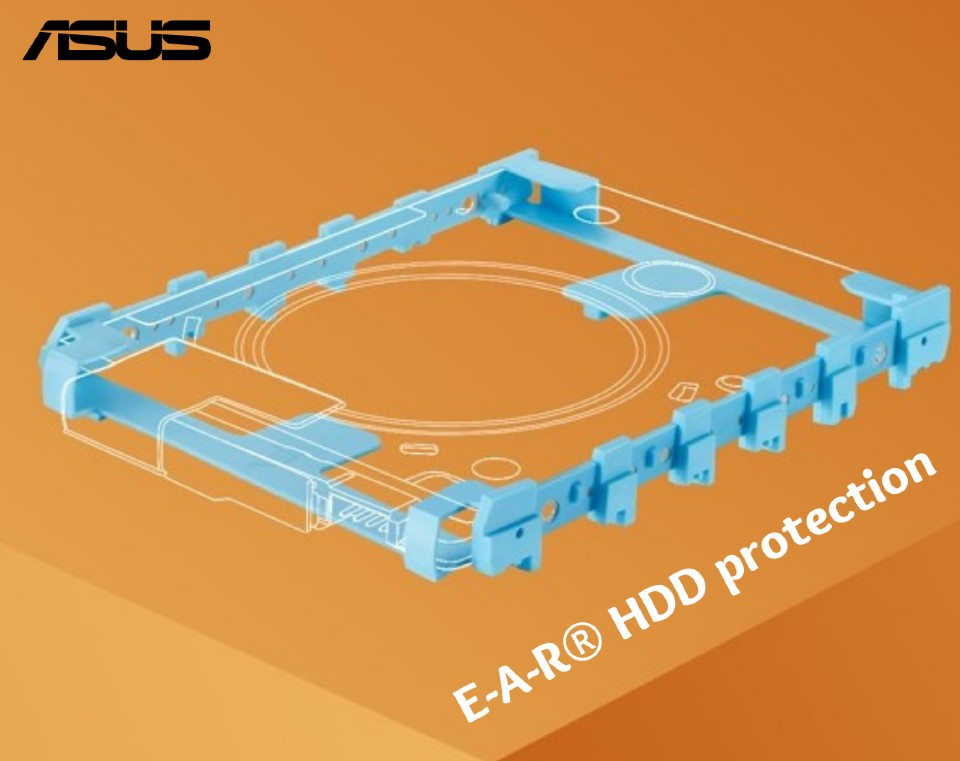 E-A-R® HDD protection