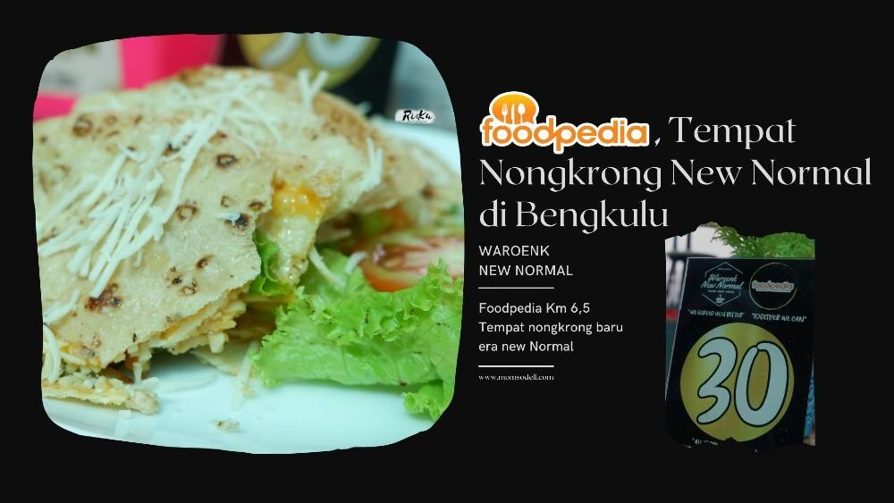 Foodpedia, Tempat Nongkrong New Normal di Bengkulu (1)