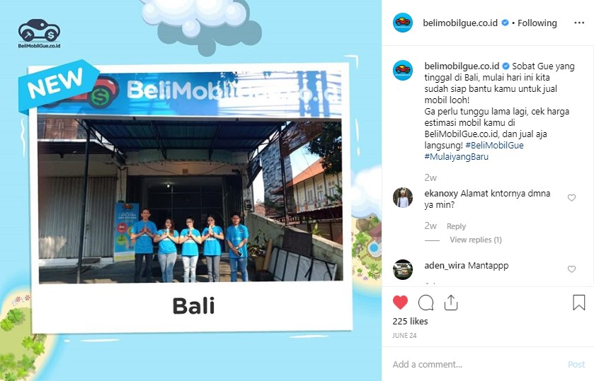 Jual Mobil Bekas Bali, BeliMobilGue.co.id