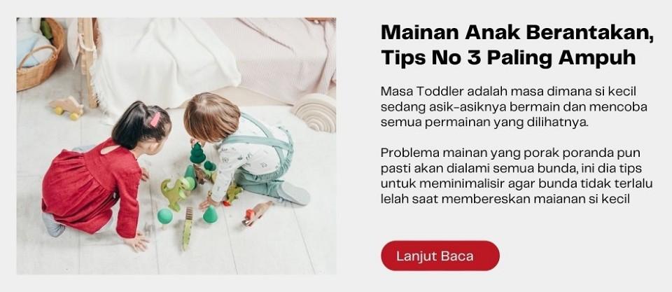 Mainan Anak Berantakan, Tips No 3 Paling Ampuh