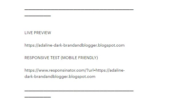 Preview Blog - Cara Memilih Template blog SEO