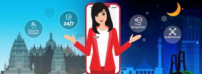 Tanya Veronika Asisten Virtual Telkomsel Yang Siap Melayani 24 Jam